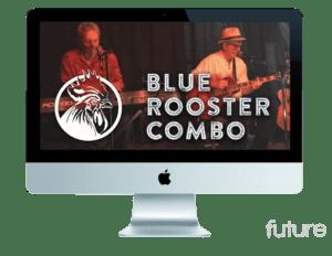 Future Bright Portfolio - Blue Rooster Grin