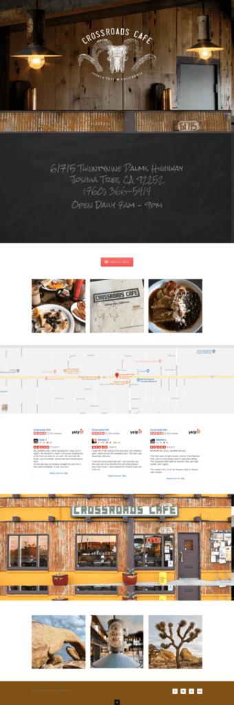 Crossroads Cafe Future Bright Portfolio