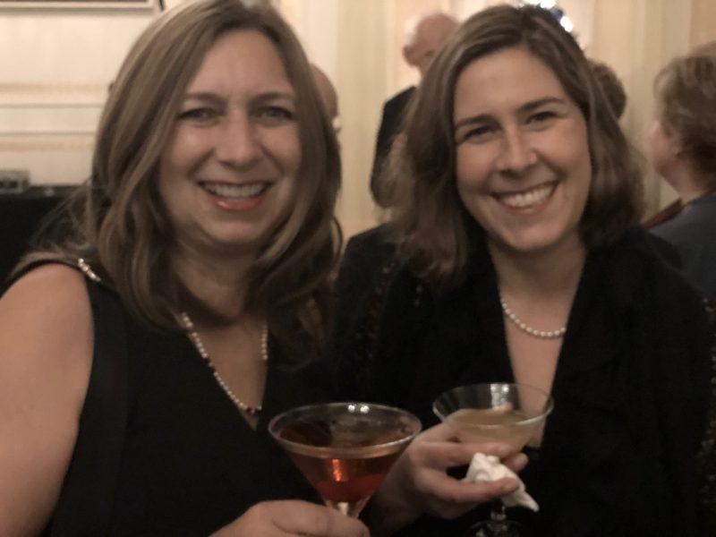 Wendy Louise Nog and friend Maya Creedman-Ho