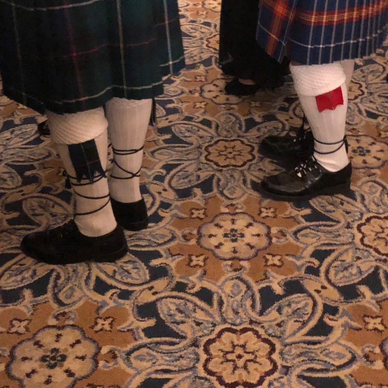 Saint Andrews Society Sock Flags