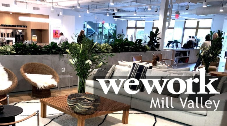 WeWork Mill Valley Lounge Area