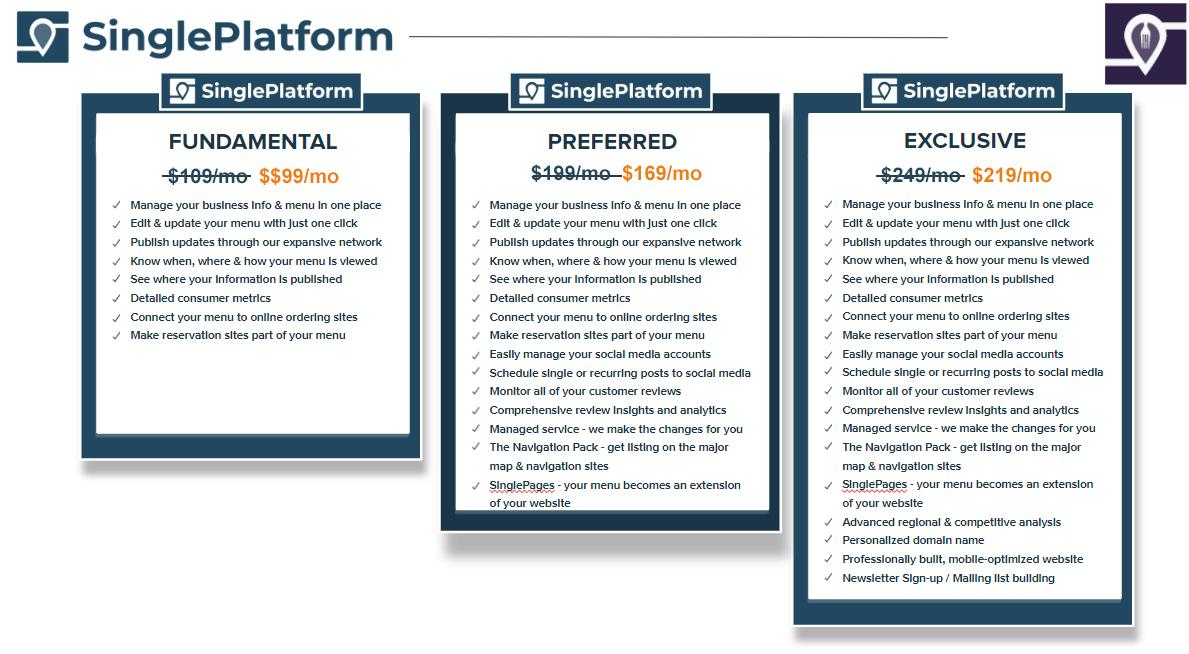 Single Platform Packages
