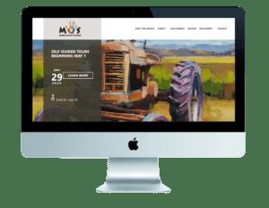 Future Bright Website Design - Marin Open Studios