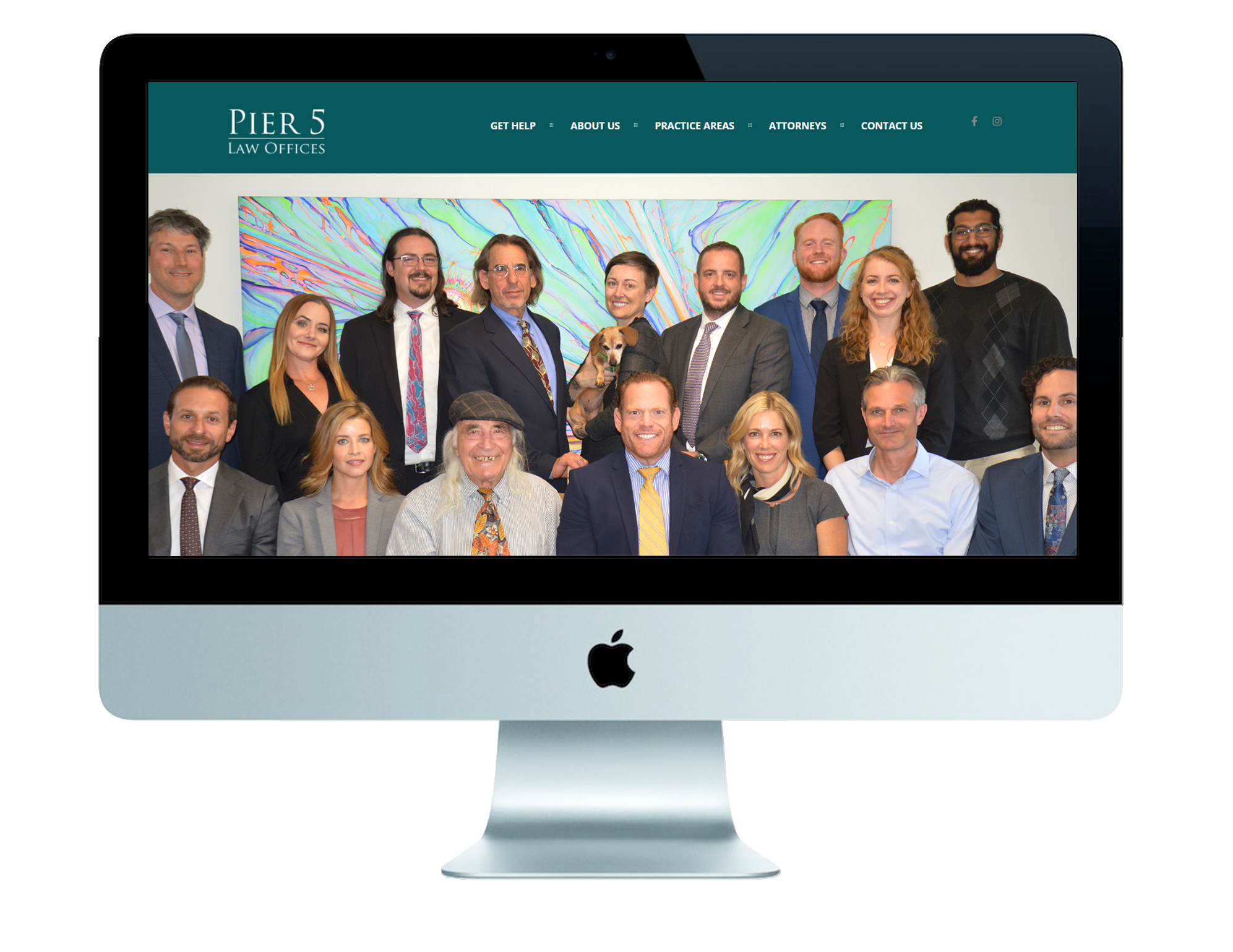 Future Bright Website Design - Pier 5 Law