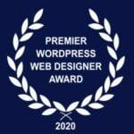 Premier Wordpress Website Designer Award